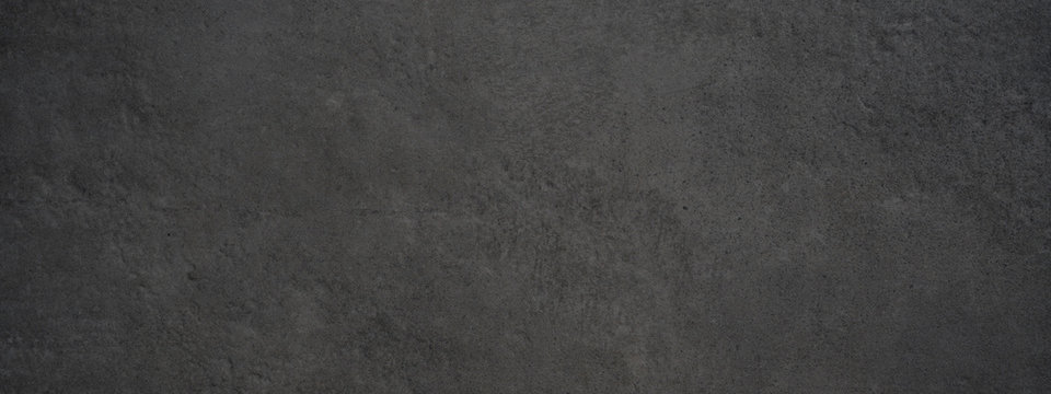 Black anthracite stone concrete tiles texture background panorama banner long