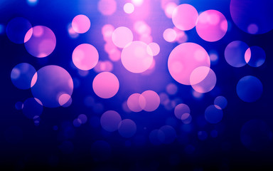 abstract purple lights background Wall mural