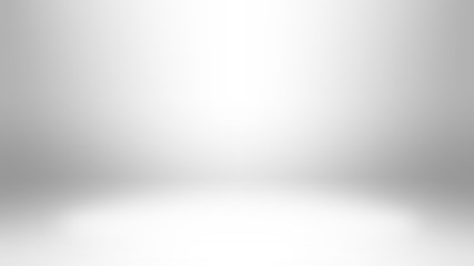high quality 8kThe white background image simulates the lighting of a photo studio that can put things or text on it.