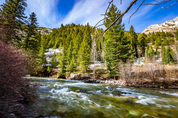 Crystal Canyon White river national park Colorado