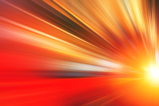 Fast zoom accelerate blur motion for business perform moving high speed abstract for background.