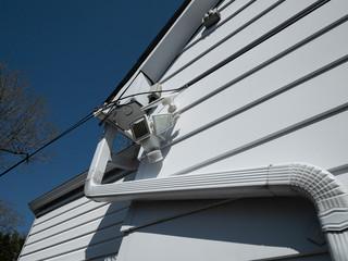 Solar-powered security lighting