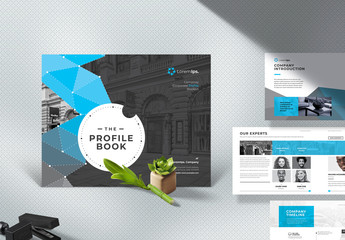 Profile Brochure Design Layout