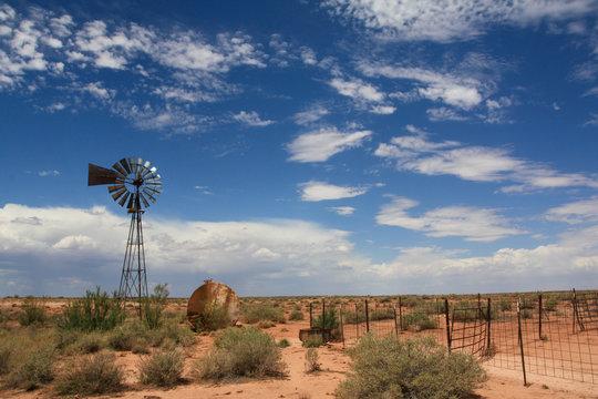 Windmill near Winslow Arizona