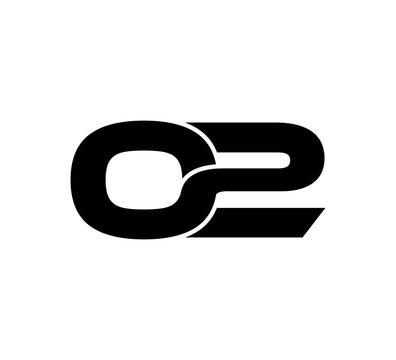 Initial 2 numbers Logo Modern Simple Black 02