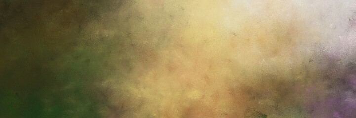beautiful vintage abstract painted background with dark khaki, very dark green and pastel gray colors and space for text or image. can be used as postcard or poster Wall mural