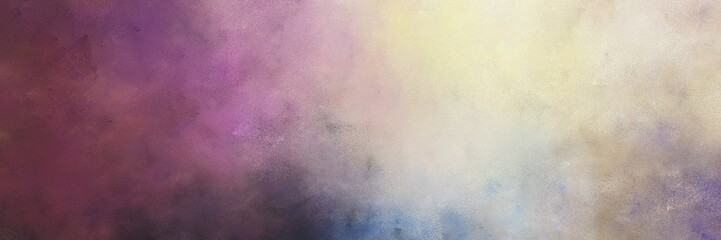 beautiful abstract painting background graphic with silver and old mauve colors and space for text or image. can be used as horizontal background graphic Wall mural