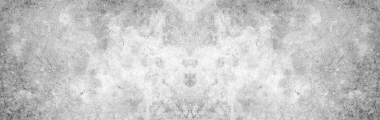 Poster de jardin Metal Old wall panorama texture cement dirty gray with black background abstract grey and silver color design are light with white background.