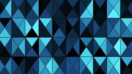 Fototapete - 三角ブロック背景