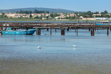 Fisherman's pontoon