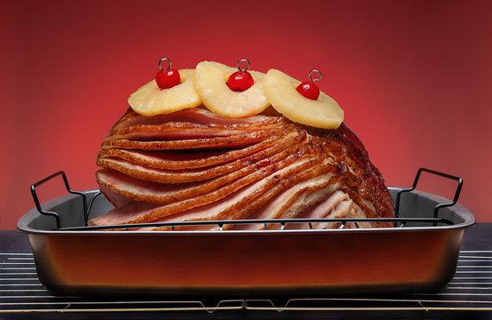 Spiral Sliced Ham for Holiday Dinner