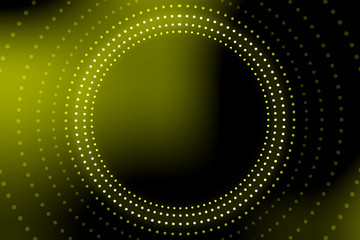 Light tunnel for your backgrounds.Bright vibrant dots. laser illumination. Yellow colors.