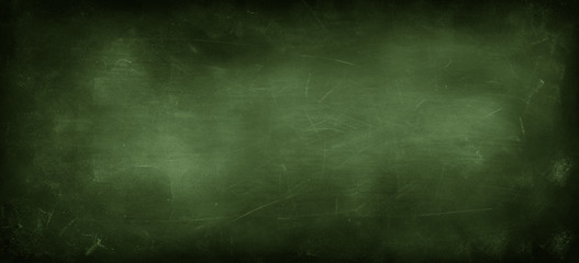 Wall Mural - Green blackboard or chalkboard