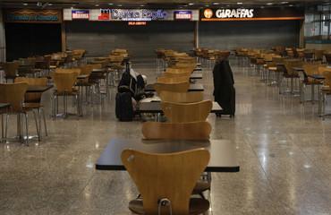 Rio de Janeiro's International airport during Outbreak of the coronavirus disease (COVID-19)