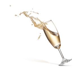 Fototapete - champagne splash