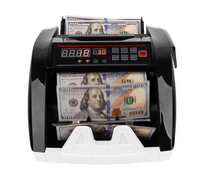 Electronic money counter