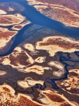 Aerial View Of Saloum Delta