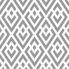 Vector geometric seamless pattern. Modern geometric background with rhombuses.