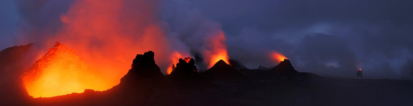 Hawaii, Puu Oo crater
