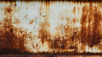 Obraz Full Frame Shot Of Rusty Metal Sheet - fototapety do salonu