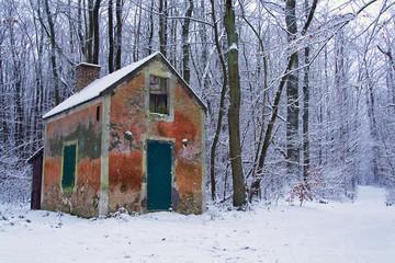 La cabane des chasseurs Wall mural