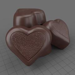 Chocolate Candy Heart