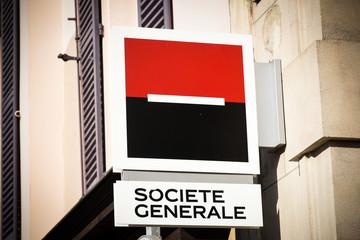 societe generale signboard