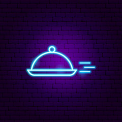 Fast Menu Dish Neon Sign