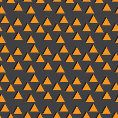 Orange and gray seamless pattern