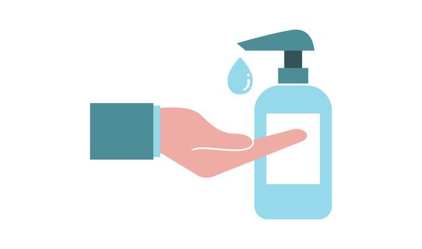 igiene, gel, sapone, mani, disinfettante