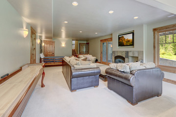 Basement with day light  huge new home family play room
