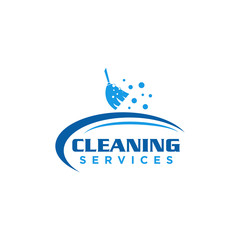 Cleaning Logo Icon Design Vector