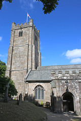 Chagford Church in Dartmoor, Devon