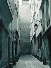 Keuken foto achterwand Smal steegje Narrow Alley In Old Town