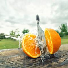 spritzig frische Orange