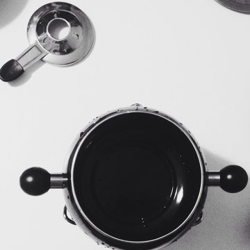 Pressure Cooker On Table