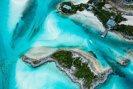 The Exuma Cay's Land and Sea Park in the Bahamas