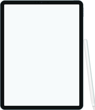 2020 version of premium iPad pro tablet in trendy thin frame design