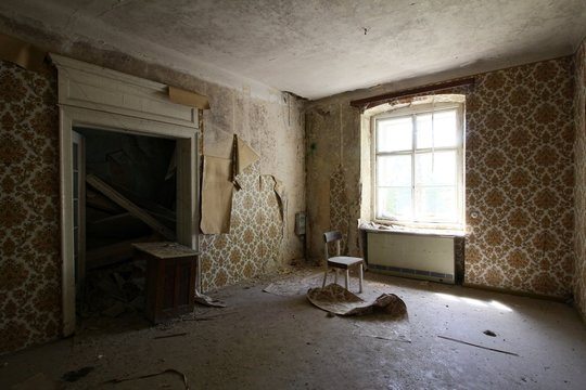 inside an old lost house