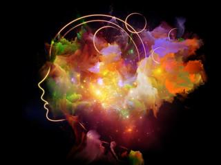 Papiers peints Echelle de hauteur Evolving Human Mind
