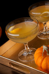 Champagne Cocktail - Fall Drinks