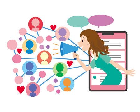 インフルエンサー 広告 マーケティング 影響力 ネット集客