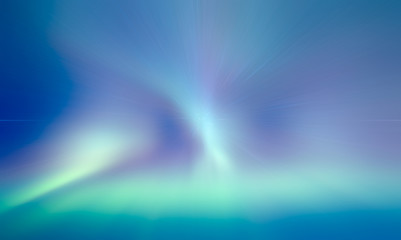 Wall Mural - Northern lights aurora borealis
