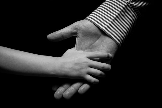 son father,  son, father, hand, black and white, helping hands, help, helping hand, white, black, hold, family, together, son and father, handshake, friendship, people, isolated, human, agreement, chi