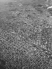 Türaufkleber Buenos Aires Aerial Shot Of Buenos Aires City At Argentina