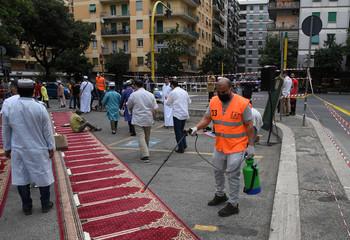 Coronavirus disease (COVID-19) outbreak, in Rome