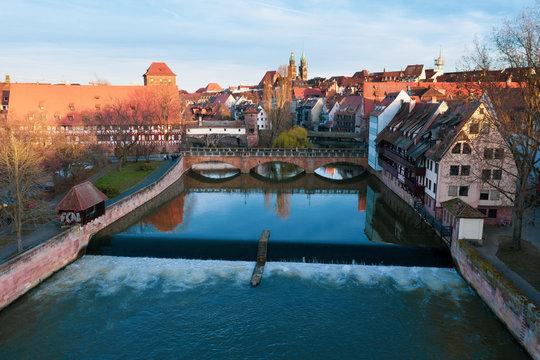 Maxbrücke Nürnberg Altstadt