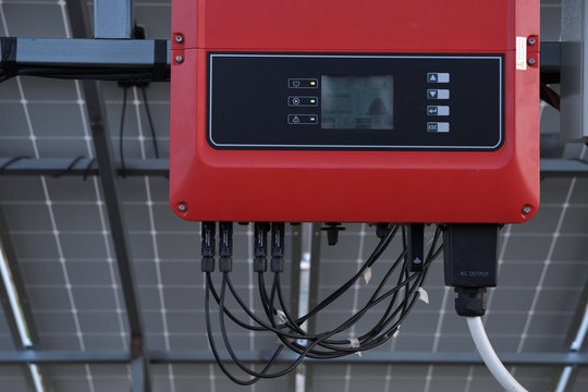Solar battery management system. Controller of power, charge of the solar panels. Solar tracker.