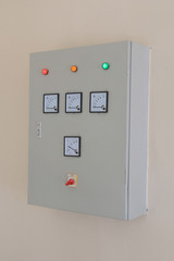 electrical server on the wall