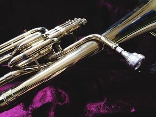 Close-up Of Tuba